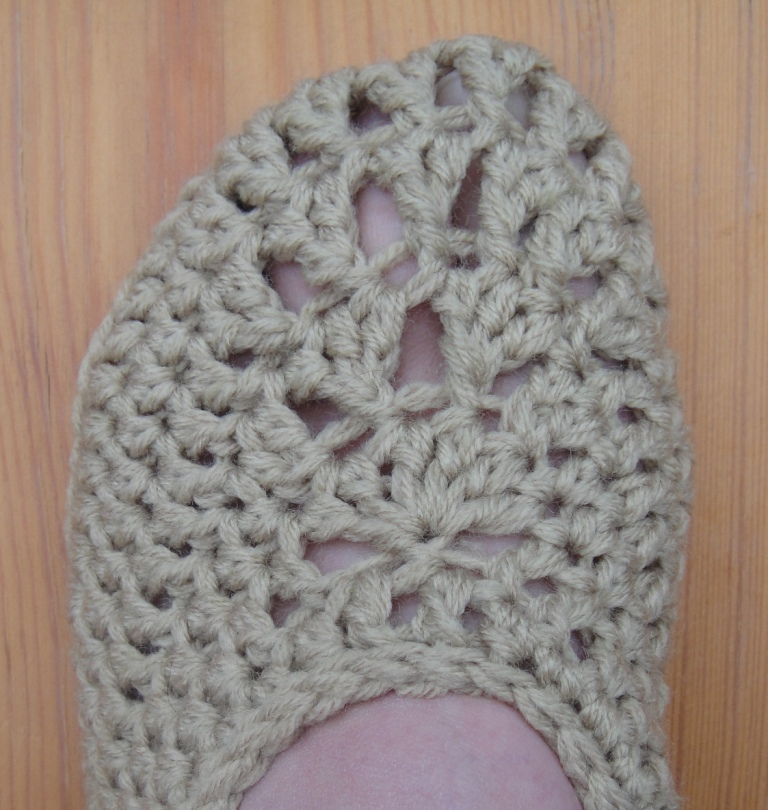 Crochet Slippers (4)