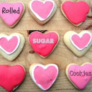 Rolled Sugar Cookie Recipe