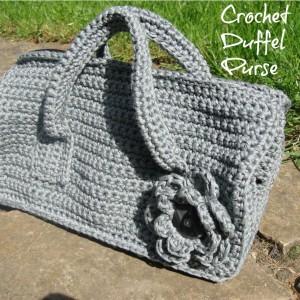 Crochet Duffel Purse Pattern