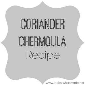 Coriander Chermoula