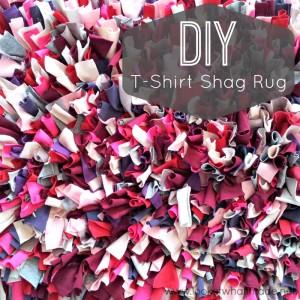 DIY T-Shirt Shag Rug