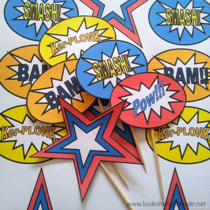 Superhero Pop Art Party