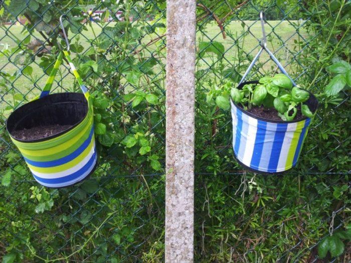 Upside down planter/Hanging Plant Pots
