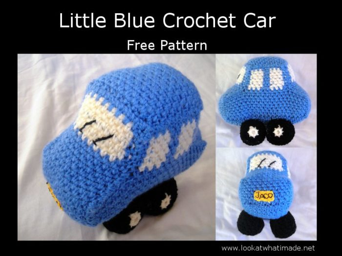 Crochet Vehicle Pattern Car