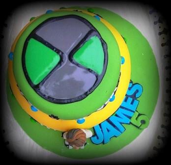 Ben 10 Cake Omnitrix