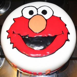 Elmo Cake Sesame Street (6)