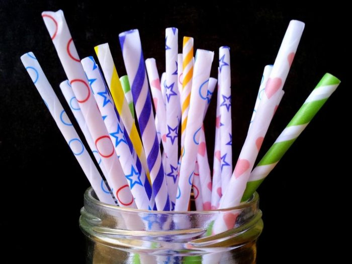 diy paper drinking straws soy wax