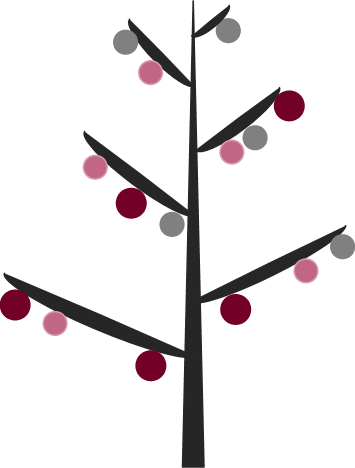 Minimalistic Christmas Tree Printable