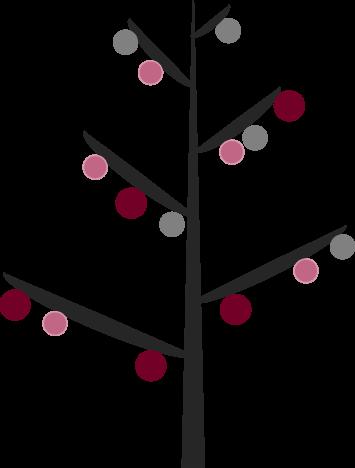 Minimalistic Christmas Tree Printable