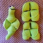 Crochet Dinosaur Puzzle Ball Pattern (7)