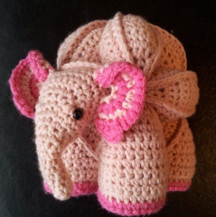 Crochet Elephant Puzzle