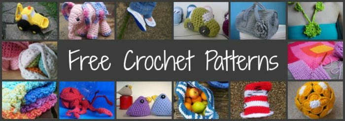FREE Crochet Patterns Lookatwhatimade