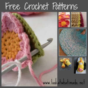 Lookatwhatimade Free Crochet Patterns and Tutorials