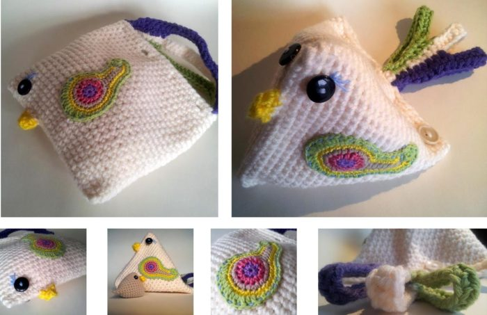 Mama Chicken Crochet Pattern Bag
