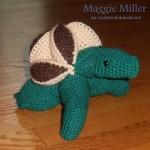 Crochet Turtle Puzzle Pattern Amamani