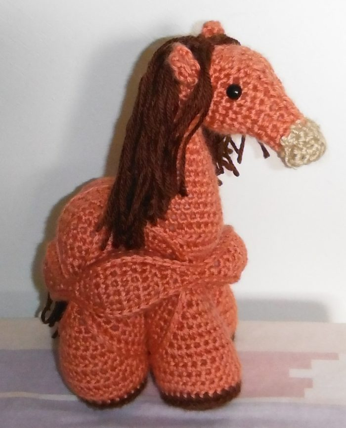 Pam Perkins Hermione Horse Crochet Pattern
