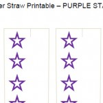 Paper Straw Templates