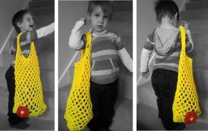 Crochet Mesh Bag Pattern
