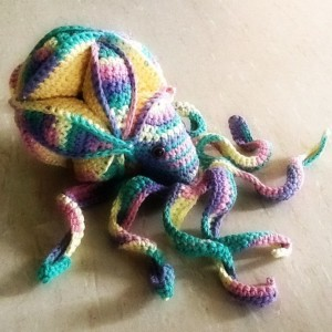 Crochet Octopus PuzzleCrochet Octopus Puzzle