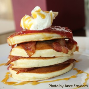 Oaty American Pancakes Recipe