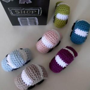 Tiny Crochet Car Pattern (Small Toy)