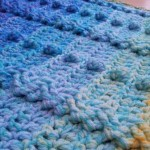 Cable and Bobble Stitch Blanket