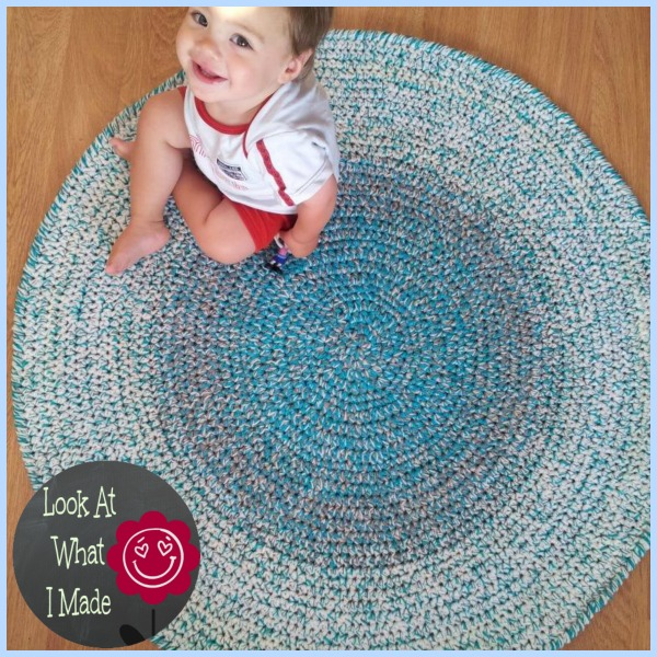 Crochet Round Rug Look At What I Made