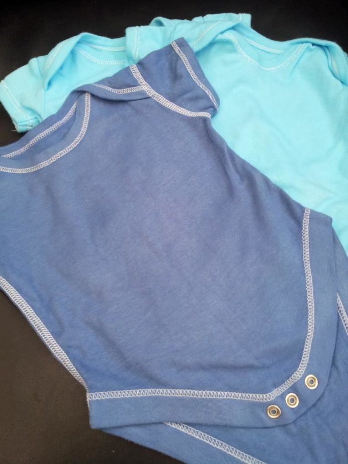 DIY Coloured Baby Clothes
