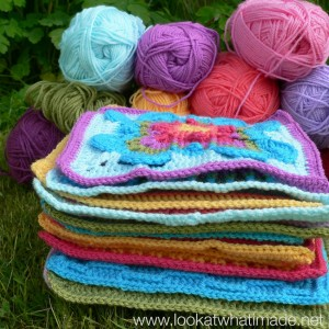 Crochet Along CAL Crochet Blanket