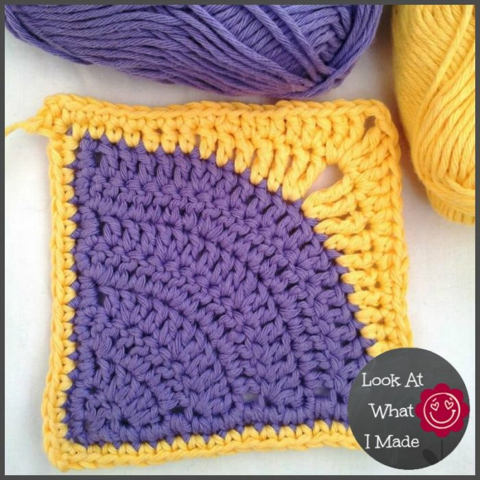 Iced Pie Square Crochet Pattern