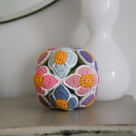 Crochet Flower Puzzle Ball Amish Puzzle Ball