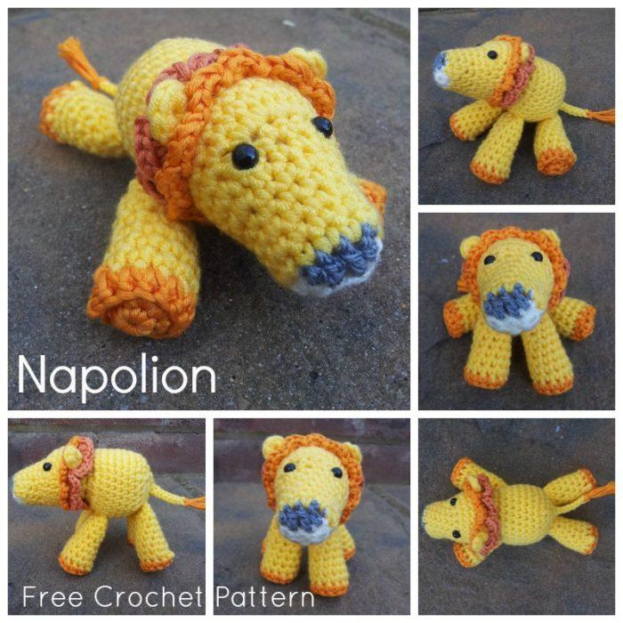 Crochet Lion Free Pattern