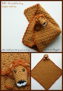Lion Lovie Crochet Pattern