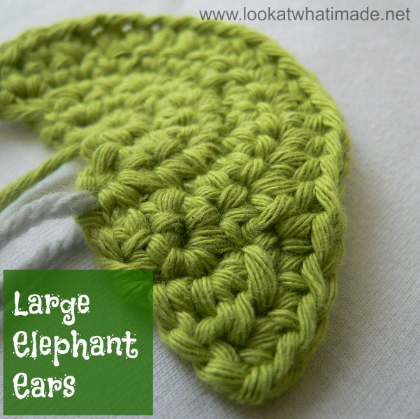 Ravelry: Giant Albus the Elephant Head pattern by TOFT | 600x601