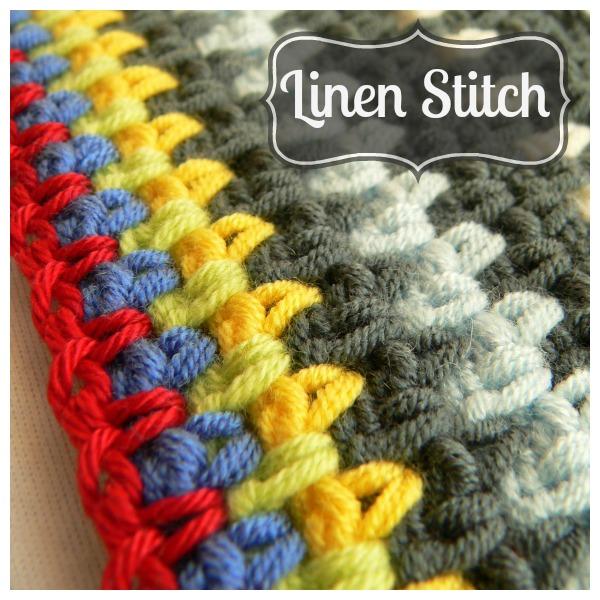 Linen Stitch Crochet