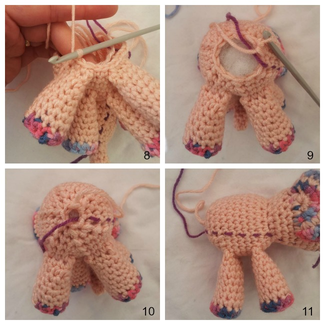 Crochet Animal Body Amigurumi