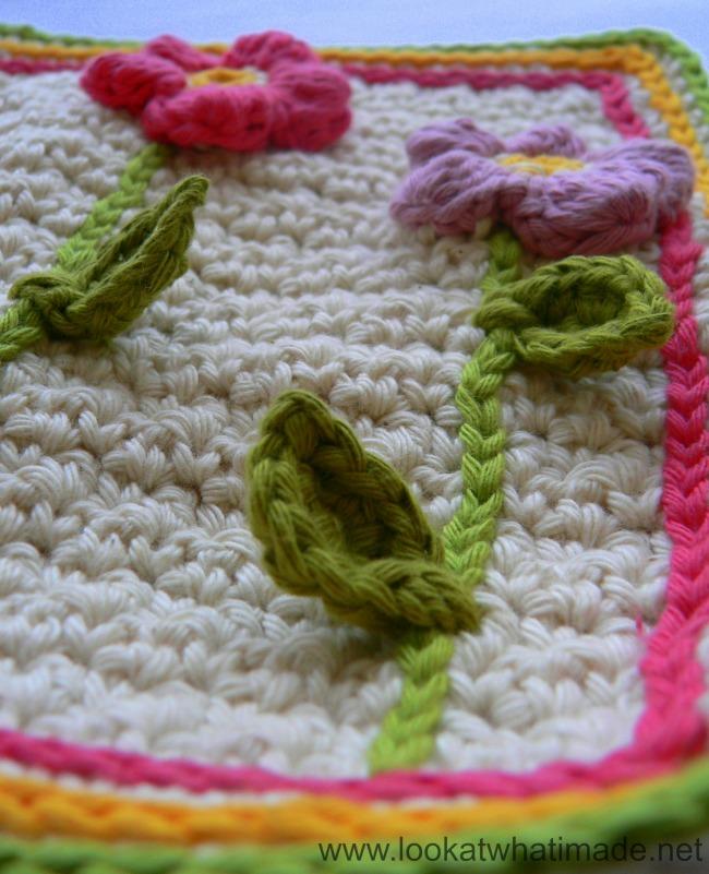 Crochet Cluster Flower Lovie
