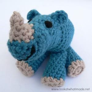 crochet rhinoceros pattern