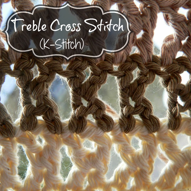 Lookatwhatimade Treble Cross Stitch K-Stitch