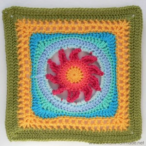 Blooming Lace Crochet Square Melinda Miller