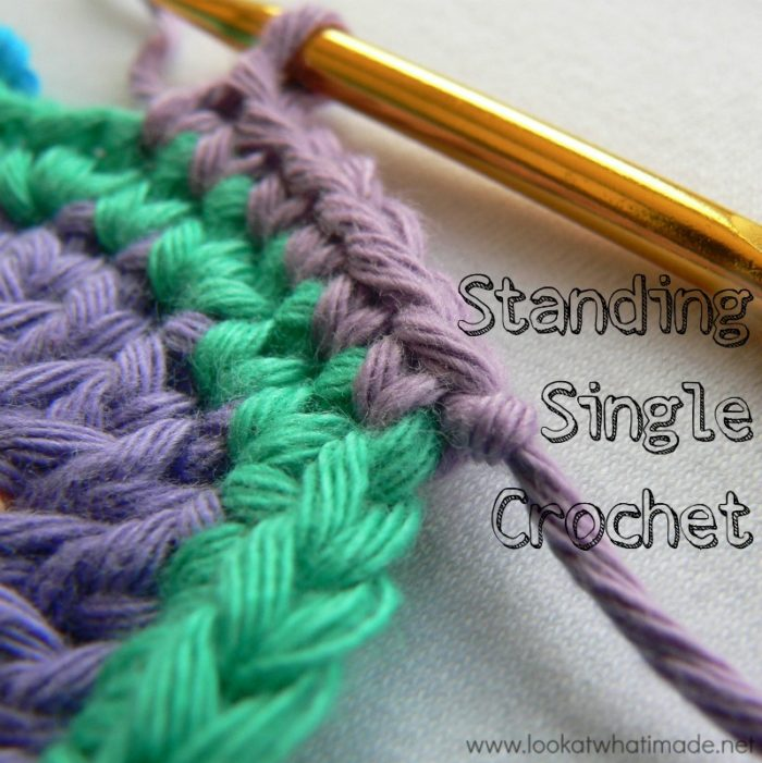 Standing Single Crochet