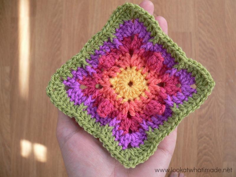 Never Ending Love Crochet Square