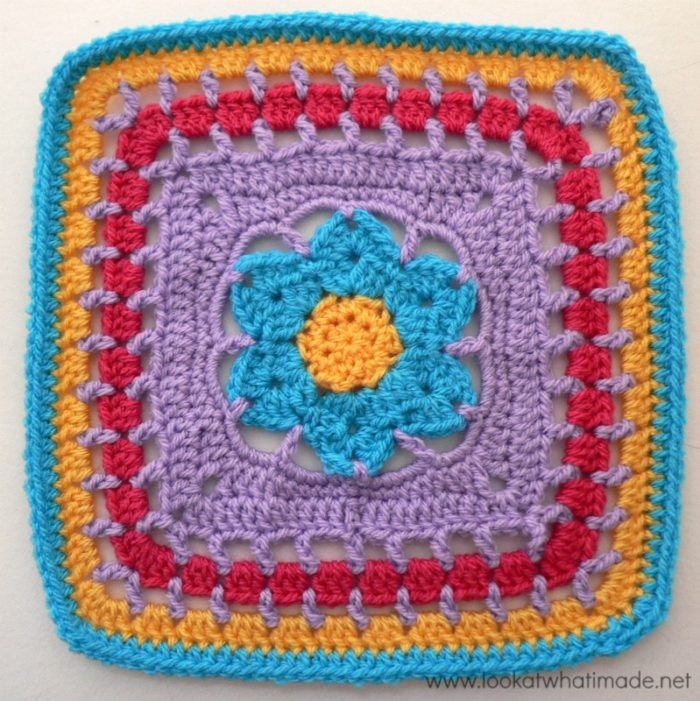 Wish Upon a Star Crochet Square Photo Tutorial
