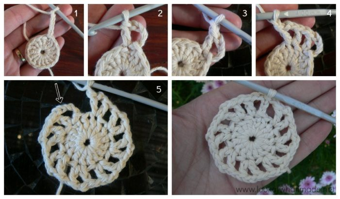 More Vs Please Crochet Square Photo Tutorial