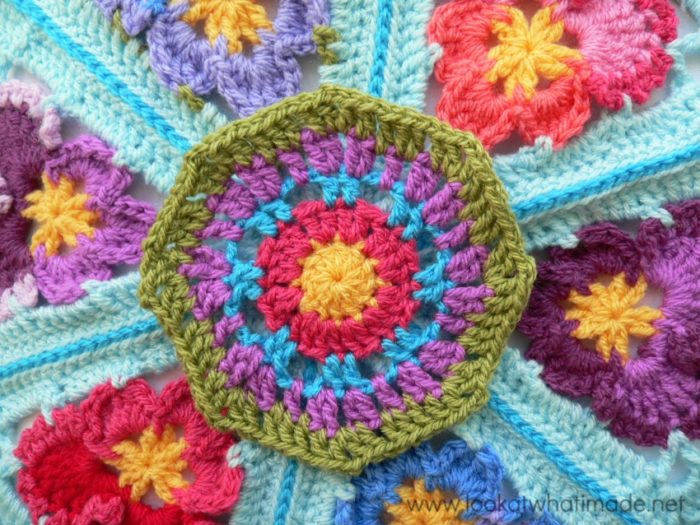 Pansy Pizza Crochet