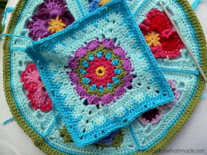 Addie Crochet Square Photo Tutorial