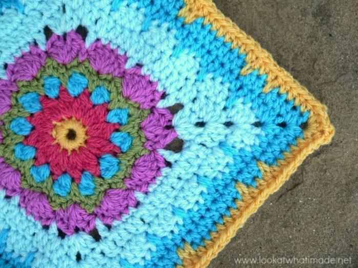 Addie Crochet Square Photo Tutorial