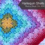 Harlequin Shells Block a Week CAL 2014