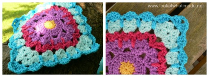 See How They Run Crochet Square Crochet-along