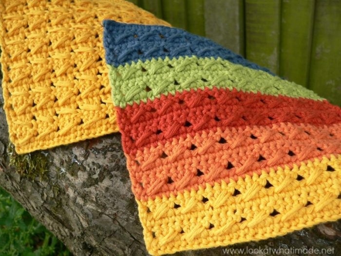 Cable Stitch Dishcloths